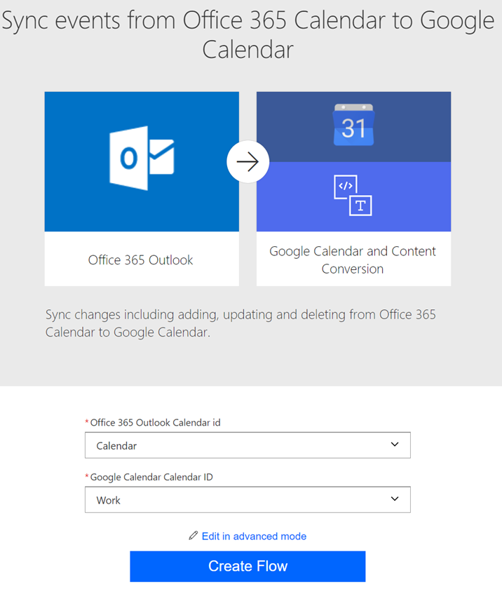 Tip: Sync Calendar Events from Office 365 to Google with