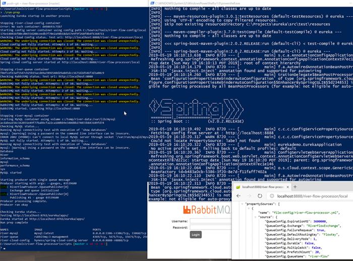 Run prep script output